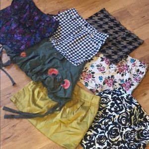 7 Forever 21 & Heritage 1981 Skirts. Small & 2